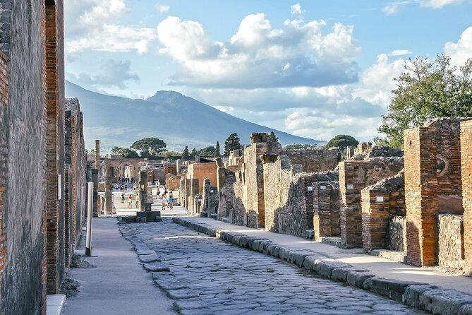 Positano, Sorrento and Pompeii in One Day with Expert Local Driver & Guide
