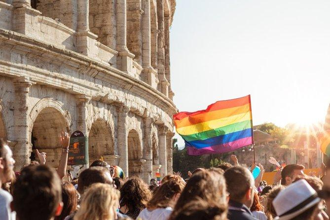 Pride Side (LGBTQ) of Rome on a Private Tour with a local
