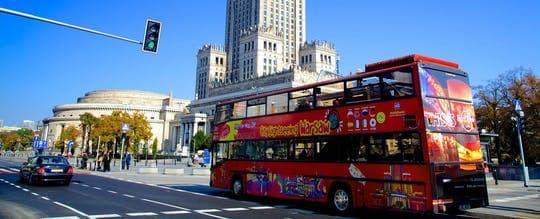 24, 48 lub 72-godzinny bilet na autobus Hop-On Hop-Off w Warszawie