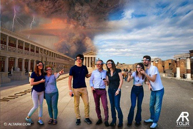 Pompeii and Herculaneum SELECT with AR Glasses from Sorrento