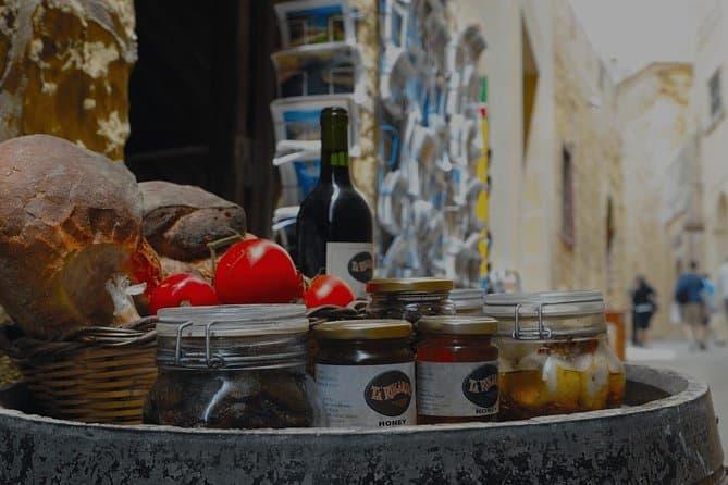 Valletta guided 3-hour walking food tasting trail