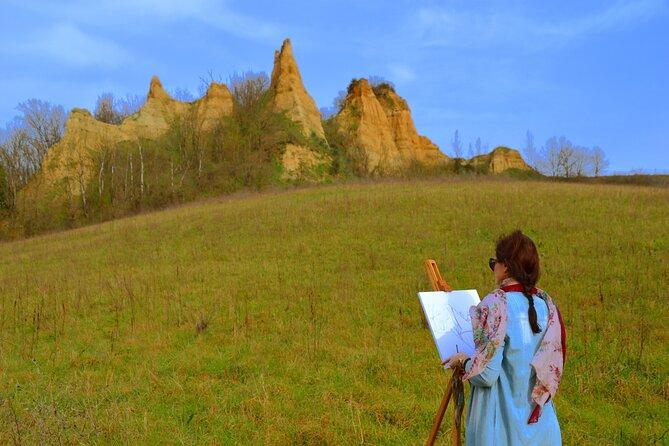 Paint memories on canvas