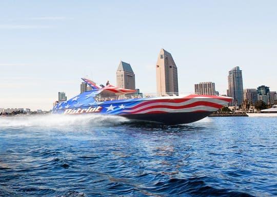 San Diego Patriot jet boat thrill ride
