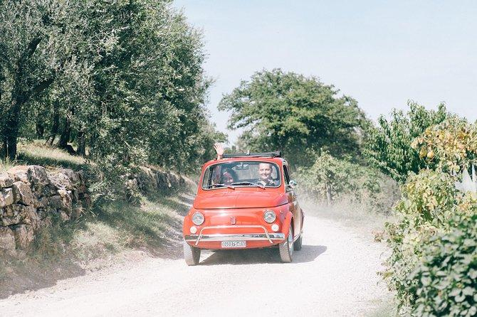 Private 500 Fiat tour in Tuscany From San Gimignano