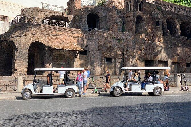 Private Baroque Rome Guided Tour by Golf Cart with Boat Ride