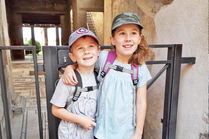 Pompeii Tour for Children with Skip-the-line Tickets & Kid-friendly Guide