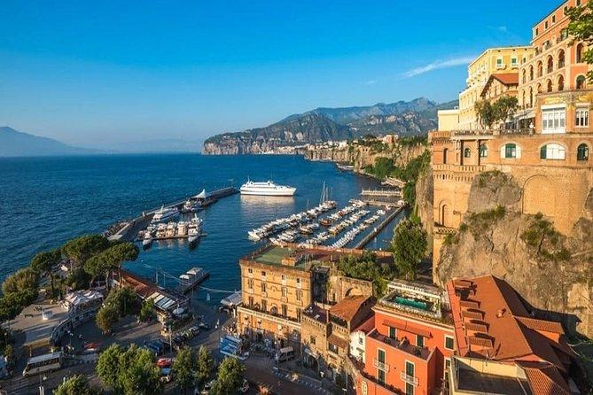 Positano and Amalfi Coast Private Tour with driver from Rome