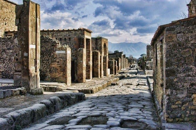 Pompeii Sorrento Positano from Naples