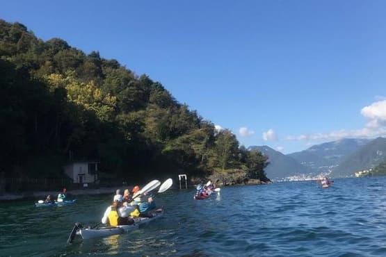 Paddle on the Orta Lake and San Giulio island