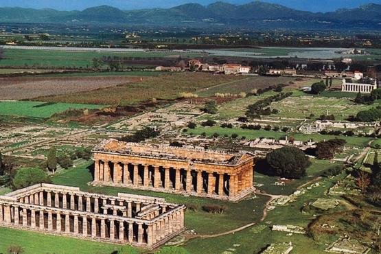 Paestum Greek Ruins