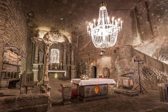 Wieliczka Salt Mine Guided Tour with pickup