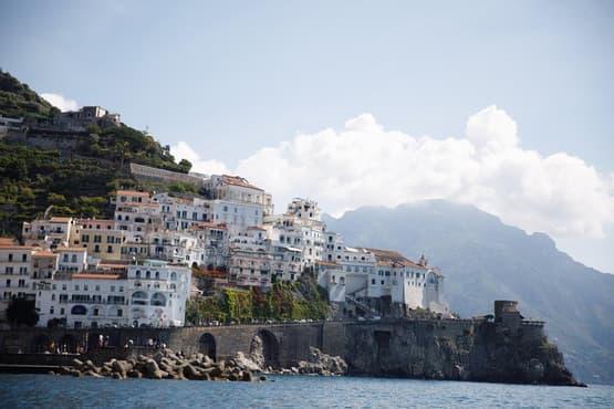 Private Amalfi coast tour with Sparviero 700 EMERALD