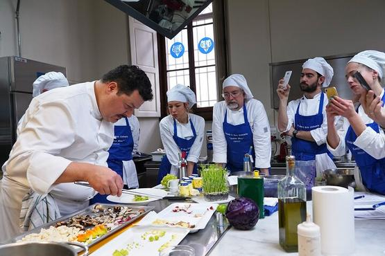 Our Michelin Star Chef cooking class