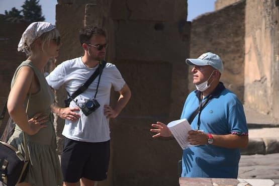 Pompeii Ruins w/ Two Vesuvian Wineries