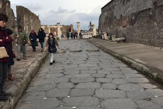 Pompeii Vesuvius Sorrento From Naples