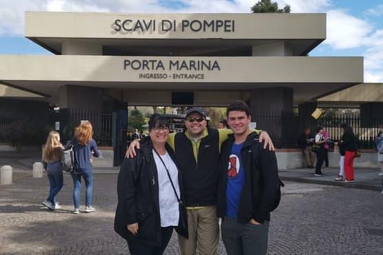 Pompeii SkipTheLine and Naples from Sorrento or Positano or Amalfi or Salerno