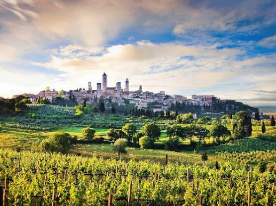 Paesaggi di Siena, San Gimignano e la Valle del Chianti - Privato