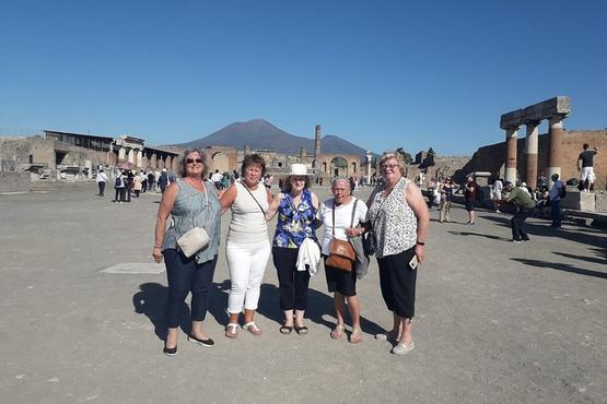Pompeii and Paestum Shore Excursion from Naples Cruise Port