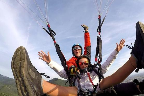 Paragliding in Rome