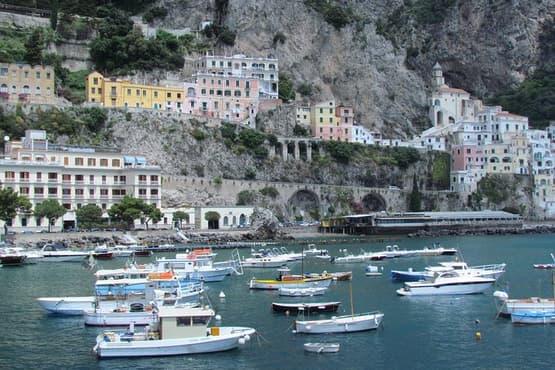 Positano, Sorrento and Pompeii in a Day Tour from Naples